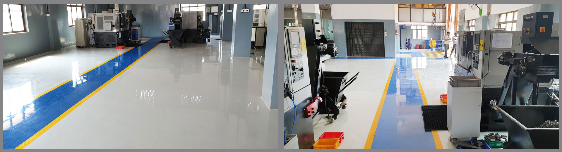 Epoxy/PU Coatings